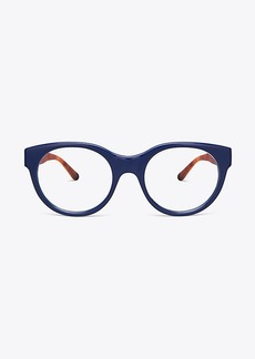 PATTERNED-TEMPLE EYEGLASSES