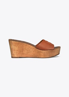 PATTY HEELED WEDGE SLIDE