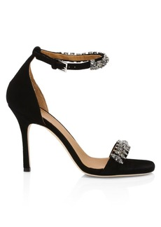 Tory Burch Penelope Embellished Leather Sandals