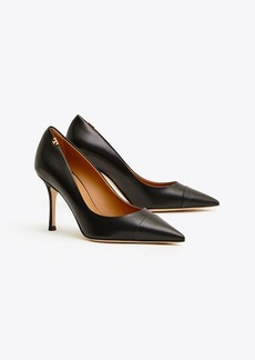 Tory Burch PENELOPE EMBOSSED CAP-TOE PUMP