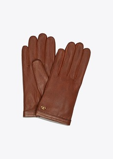 Tory Burch PERFORATED LEATHER GLOVE