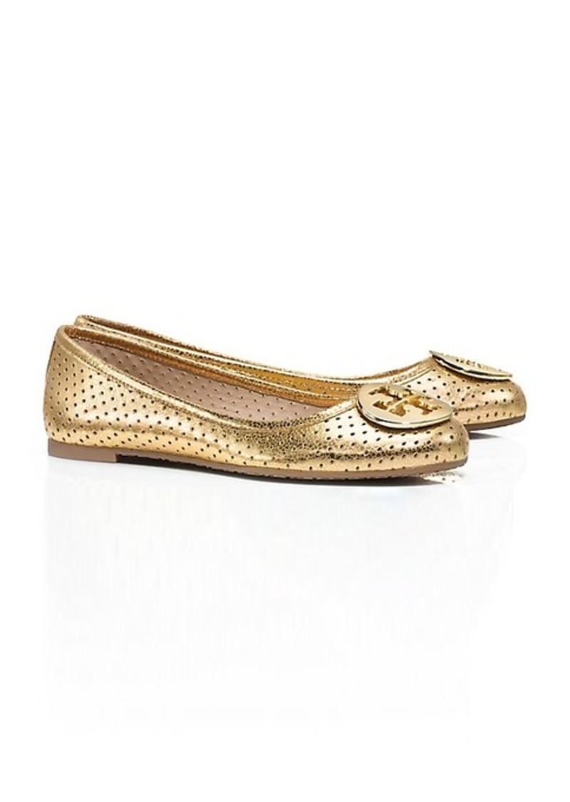 tory burch perforated reva ballet flat shoes shop it to me. Black Bedroom Furniture Sets. Home Design Ideas