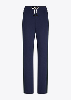 Tory Burch Performance Merino Color-Block Pants