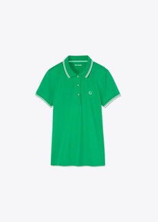 Tory Burch Performance Piqué Polo