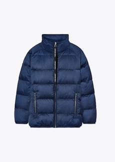 Tory Burch PERFORMANCE SATIN DOWN JACKET