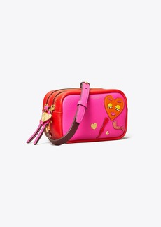 Tory Burch Perry Patchwork Hearts Mini Bag
