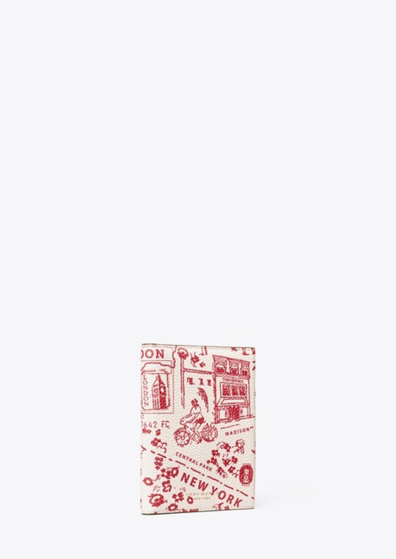 Tory Burch PERRY PRINTED PASSPORT CASE
