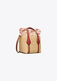 Tory Burch Perry Straw Nano Tote
