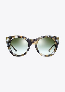 Pierced-T Cat-Eye Sunglasses