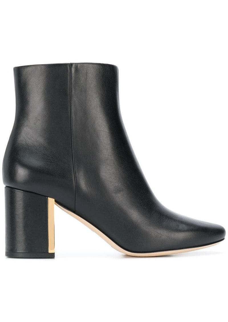 Tory Burch plaque heel boots