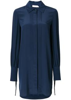 Tory Burch pleat detail shirt dress