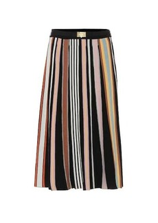 Tory Burch Pleated knit skirt