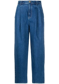 Tory Burch pleated waist jeans