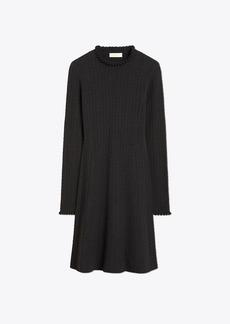 Tory Burch POINTELLE KNIT DRESS
