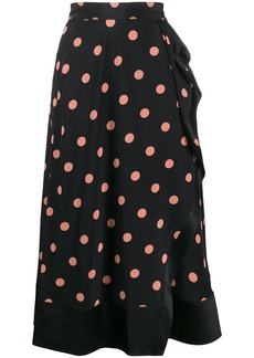 Tory Burch polka-dot print skirt
