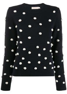 Tory Burch polka dot sweater