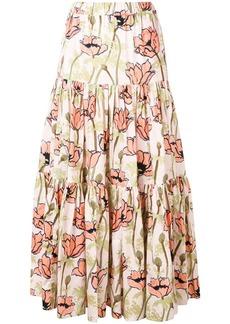 Tory Burch poppy skirt