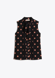 Tory Burch Printed Bow Top