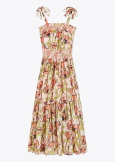 Tory Burch Printed Cotton Maxi Dress