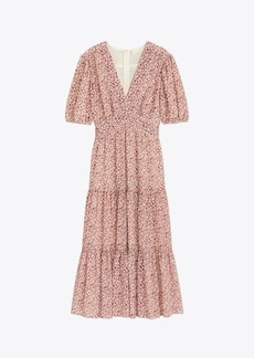 Tory Burch Printed Cotton-Silk Dress