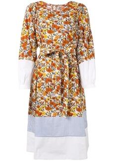 Tory Burch printed floral prairie dress