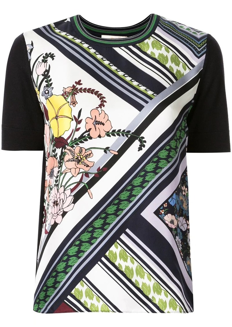 Tory Burch printed front T-shirt