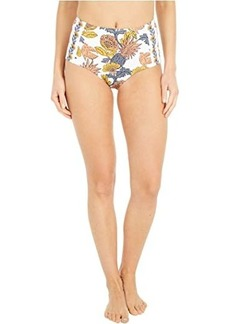 Tory Burch Printed High-Waisted Bottoms