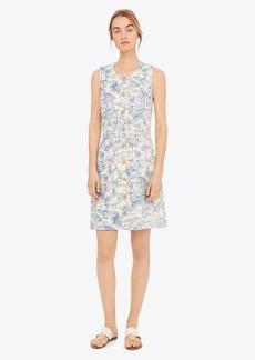 Tory Burch Printed Linen Shift Dress