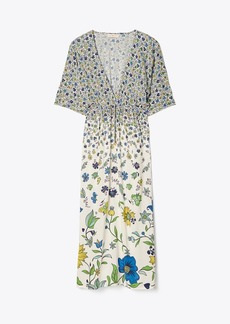 Tory Burch Printed Midi Beach Dress