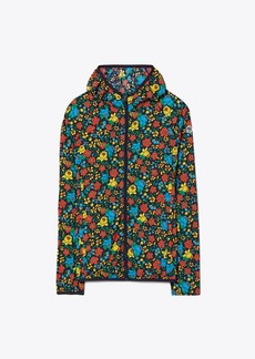Tory Burch Printed Nylon Packable Jacket