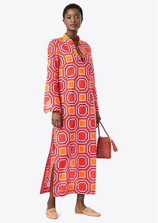 Tory Burch PRINTED STEPHANIE BEACH CAFTAN