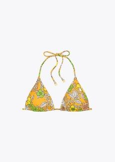 Tory Burch Printed String Bikini Top