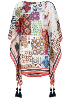 Tory Burch printed style blouse