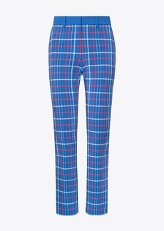 Tory Burch PRINTED TECH STRETCH TWILL GOLF PANTS