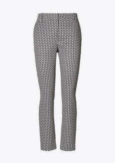 Tory Burch Printed Tech Twill Golf Pants