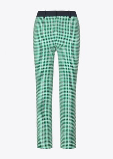 Tory Burch PRINTED TECH TWILL GOLF PANTS