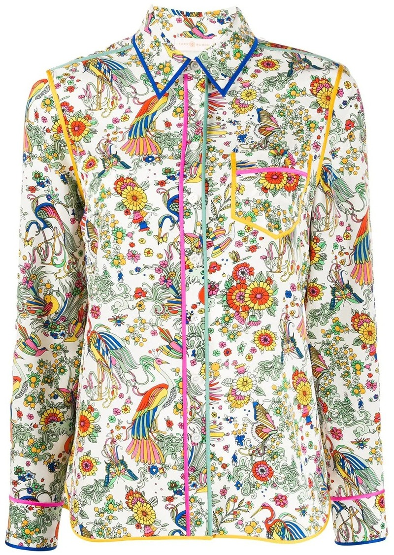 Tory Burch Promised Land floral shirt