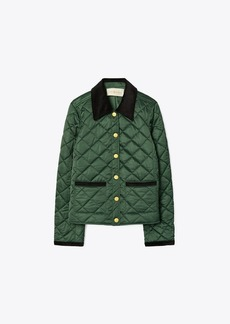 Tory Burch Quilted Barn Jacket
