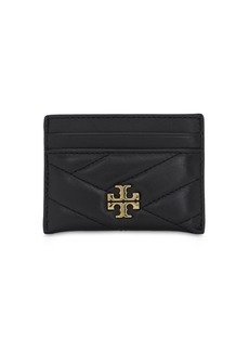 Tory Burch Quilted Leather Card Holder