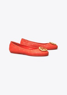Tory Burch MINNIE TRAVEL BALLET FLAT, QUILTED LEATHER