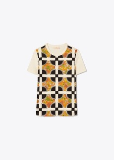 Tory Burch Quilted T-Shirt