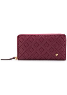 Tory Burch quilted zip-around wallet