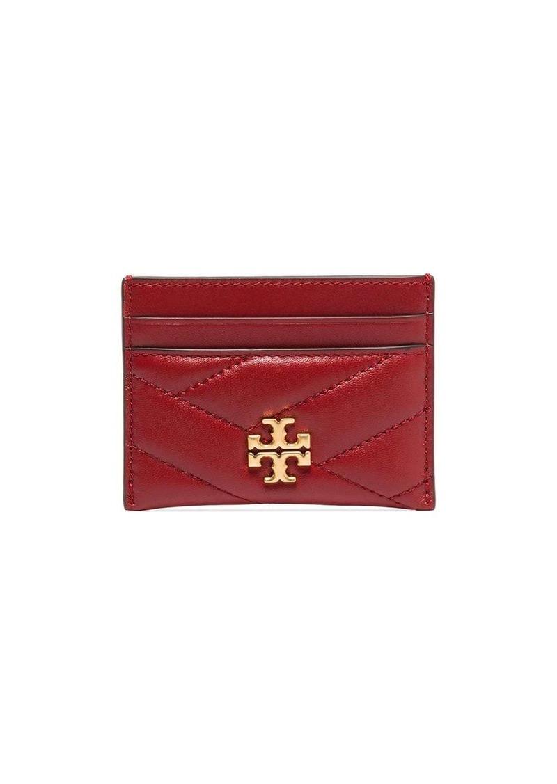 Tory Burch Kira leather card holder