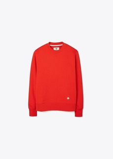 Tory Burch Relaxed French Terry Crew