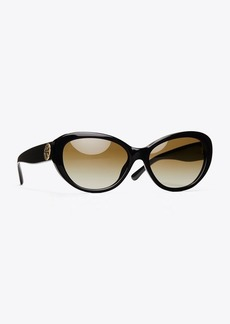 Tory Burch REVA CAT-EYE SUNGLASSES