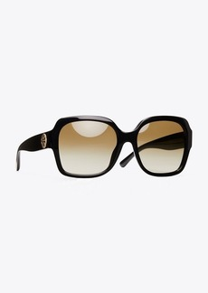 Tory Burch REVA LARGE SQUARE SUNGLASSES