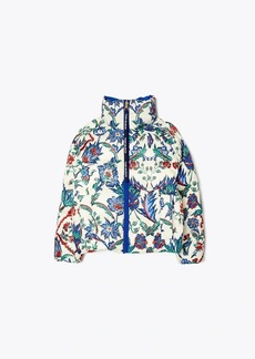 Tory Burch Reversible Printed Puffer Jacket