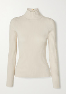Tory Burch Ribbed-knit Turtleneck Sweater