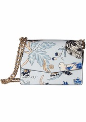 Tory Burch Robinson Floral Convertible Shoulder Bag