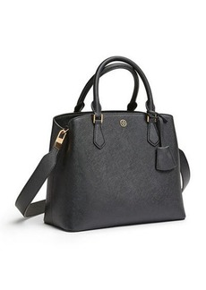 Tory Burch Robinson Medium Triple-Compartment Leather Tote Bag